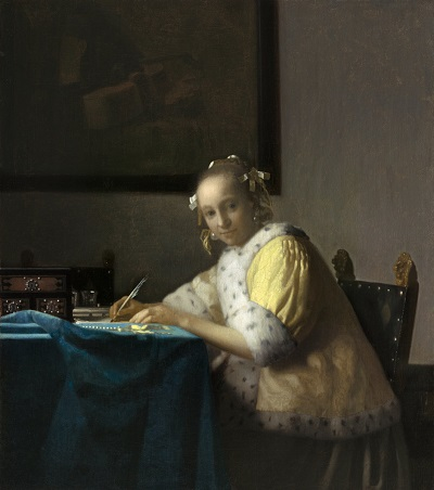 A Lady Writing.jpg