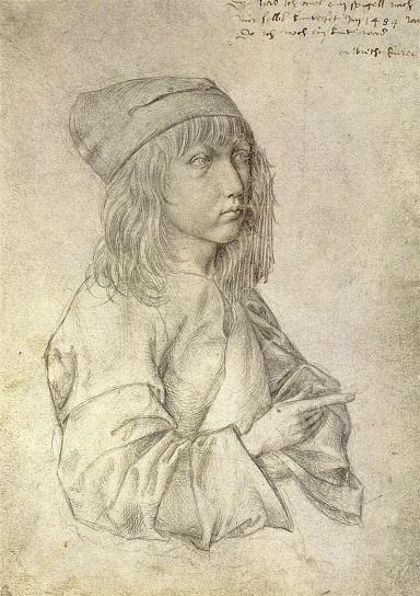 Albrecht Durer - Self Portrait at 13.jpg