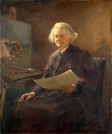 Anna Klumpke - Portrait of Rosa Bonheur.jpg