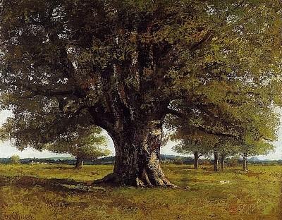 Courbet - フラジェの樫の木.jpg