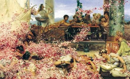 アルマ=タデマ 7:ヘリオガバルスの薔薇(1888).jpg