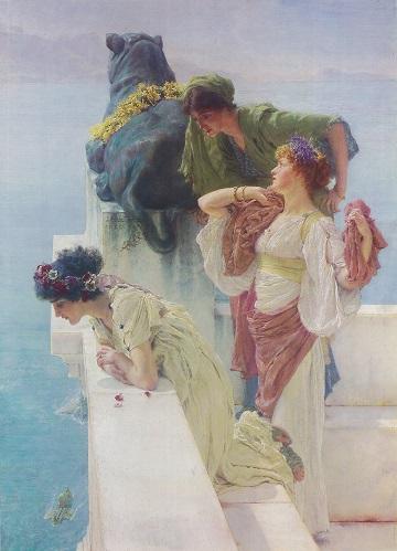 アルマ=タデマ 9:見晴らしのよい場所(1890).jpg