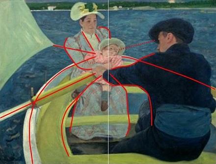 カサット「舟遊び」説明.jpg