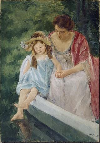 ボートに乗る母と子.jpg