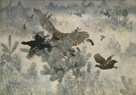 リリエフォッシュ「鷹と黒い獲物」.jpg