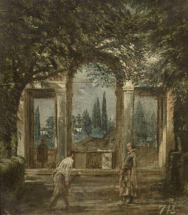 ヴィラ・メディチの庭園1.jpg