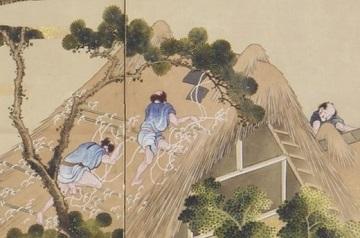 富士田園景図・右隻・部分1.jpg