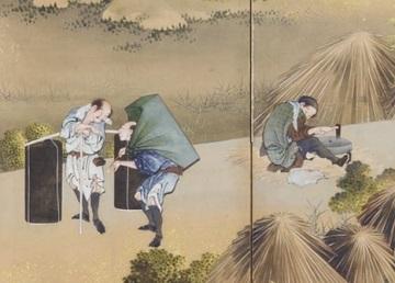 富士田園景図・右隻・部分3.jpg