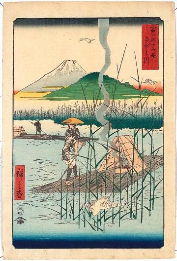 歌川広重「富士三十六景 さがみ川」.jpg