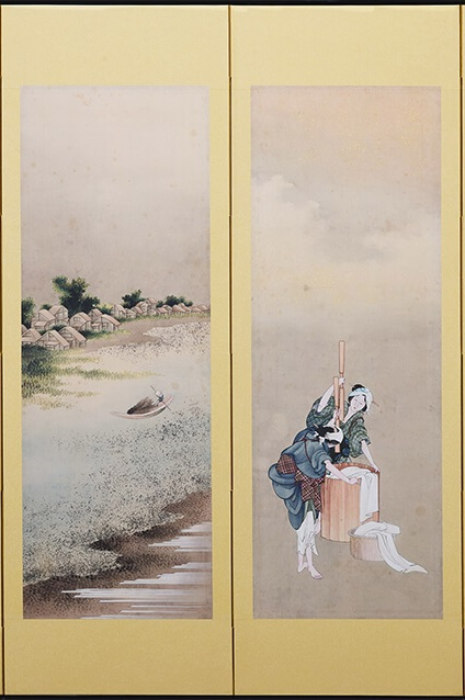 玉川六景図・左隻 第3・4扇.jpg