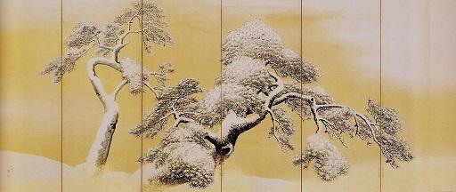 雪松図屏風(左隻).jpg