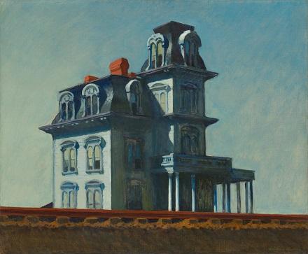 Edward Hopper - House by the Railroad 1925.jpg