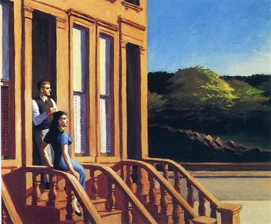 Hopper 1956 - Sunlight on Brownstones.jpg