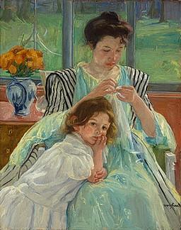 Mary Cassatt - Young Mother Sewing.jpg