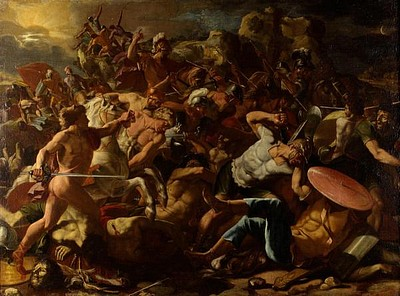 Poussin - The Battle of the Israelits with Amorites.jpg