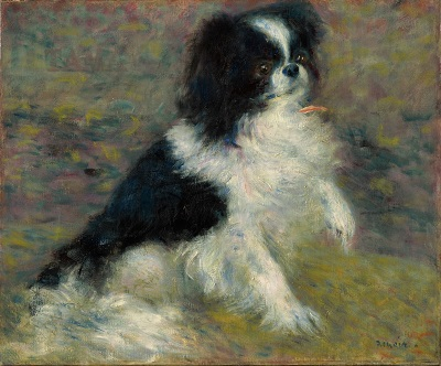 Tama, the Japanese Dog(Renoir).jpg