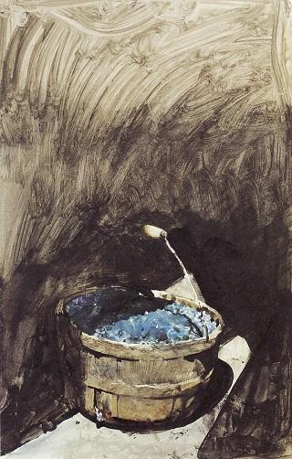 Wyeth 04 パイ用のブルーベリー・習作.jpg